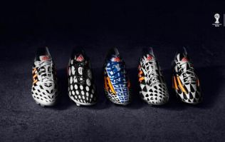 Pic: So these are the Adidas boots that the stars will be wearing at the World Cup next month