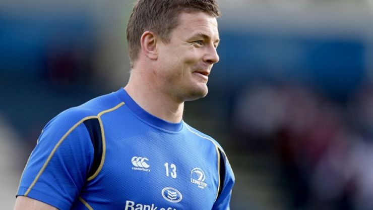 Video: Leinster pay one final and brilliant tribute to Brian O'Driscoll before his last ever game in blue