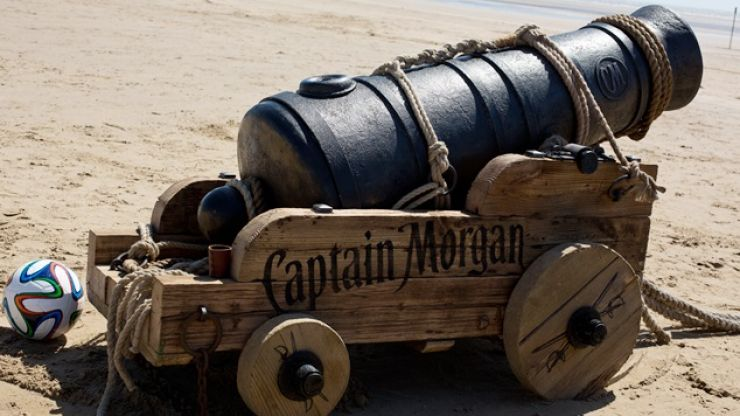 Video: Captain Morgan expertly puts this 2014 Tournament ball through its paces