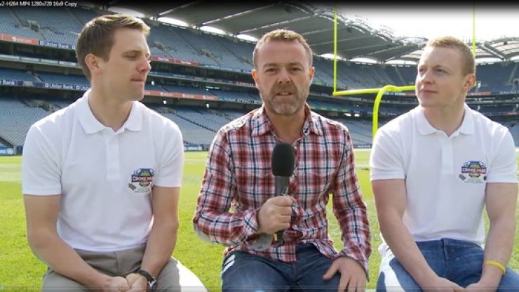 Video: JOE meets Tomás 'Mossy' Quinn and Colin Walshe to talk NFL and GAA