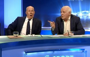 Vine: Eamon Dunphy apologises for dropping the F-Bomb live on TV earlier this evening