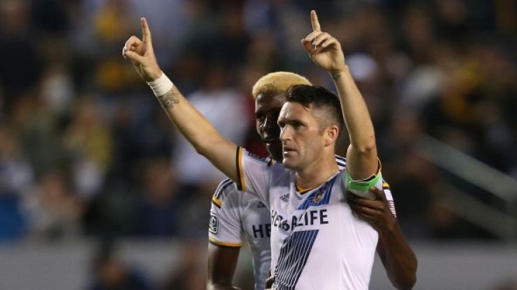 Video: Robbie Keane scored an absolute belter with his left foot for the LA Galaxy last night