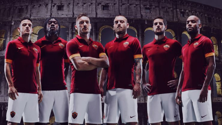 Pic: The new Roma jersey is just absolutely gorgeous so it is