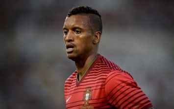 Video: Nani had a goal of the season contender disallowed against Ireland last night