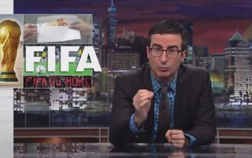 Video: Ex-Daily Show man John Oliver dissects FIFA in brilliant segment on new show