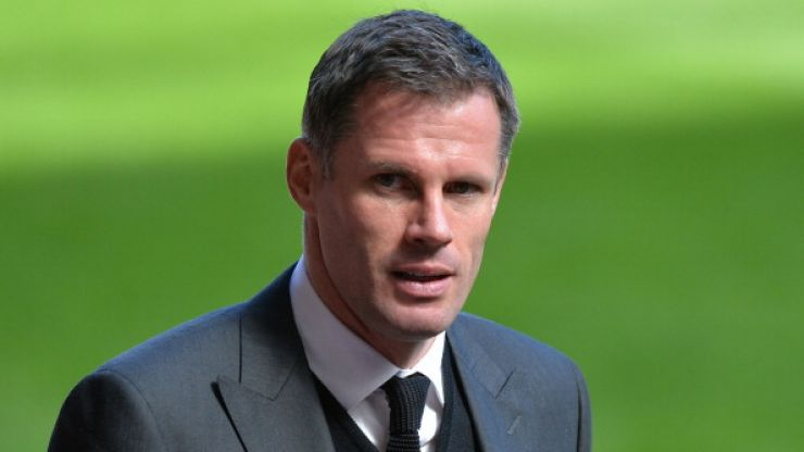 Jamie Carragher makes the mistake of calling Roy Keane a 'Brit'