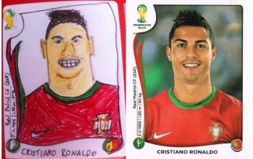 Check out this Panini sticker album with a difference