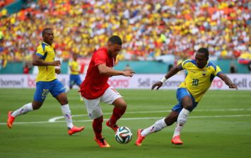 Vine: Ecuador just scored an absolute beauty against England in Miami