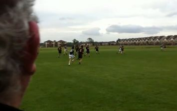 Video: Oh lads do we have a treat for you! Junior C Football at its finest