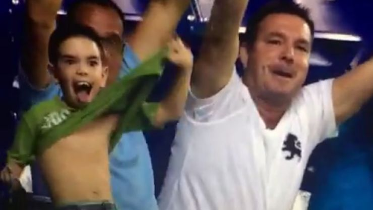 Vine: This kid produced the funniest and creepiest celebration we've seen in a very long time