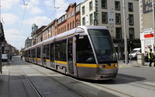 Video: LUAS release safety video showing collisions between LUAS and vehicles