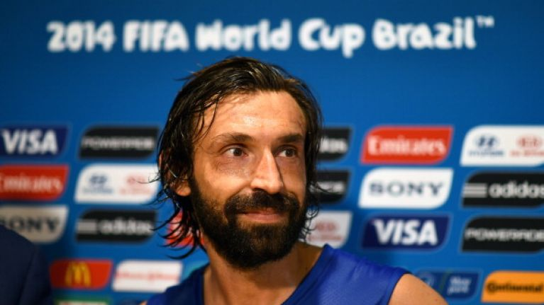 ICYMI: Andrea Pirlo's beautiful free kick was the best near-goal of the World Cup so far