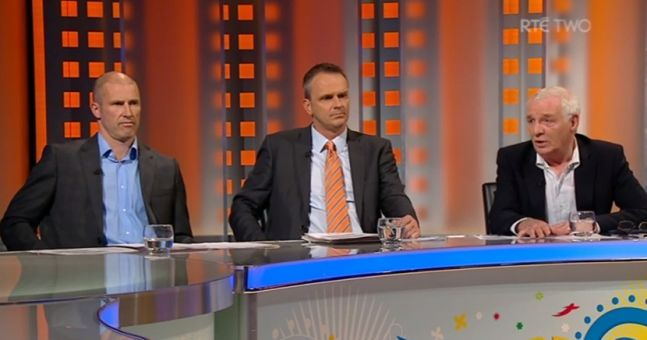 Video: Dunphy and Cunningham had a right go at each other tonight in the RTE studio