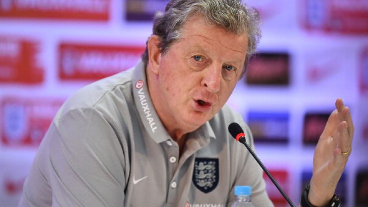 Pic: Roy Hodgson won't be happy when he sees the state of the pitch for England's game on Saturday