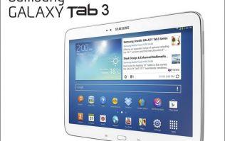 Win a Samsung Galaxy Tab 3 courtesy of Chicago Town Ireland