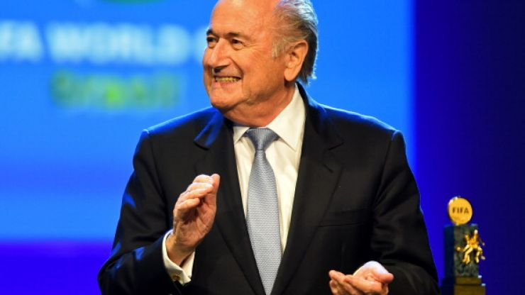 Vine: Make it stop! Sepp Blatter did a weird dance thing at FIFA congress