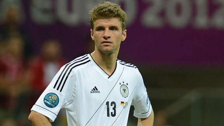Chicago Town Take Away Slice of the Action: Thomas Müller puts the Germans in charge against Portugal
