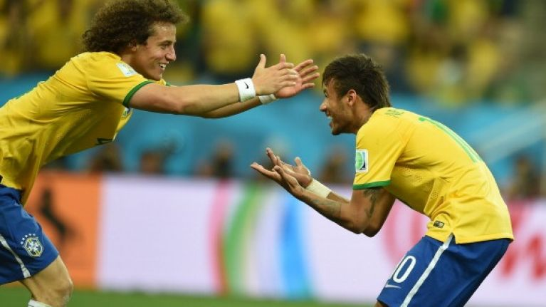 Pic: What do you get when you combine Neymar's face with David Luiz's hair? This…