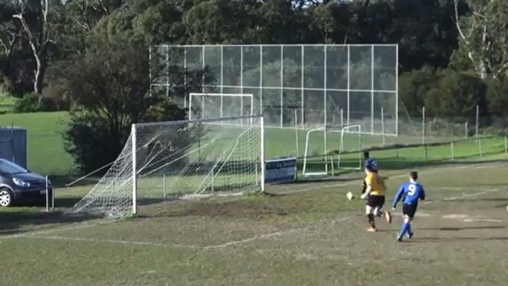 Video: Australian amateur player responsible for one of the worst ever open-goal misses