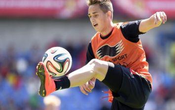 Video: Adnan Januzaj scores a belter of a strike past Thibaut Courtois at Belgian training