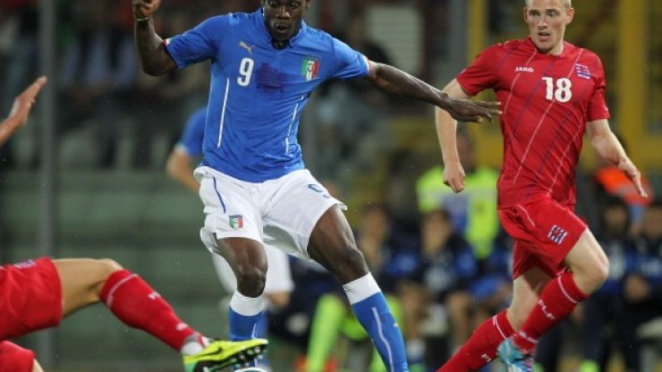 You're going to love how Mario Balotelli has filled in the Italy page of his Panini sticker album