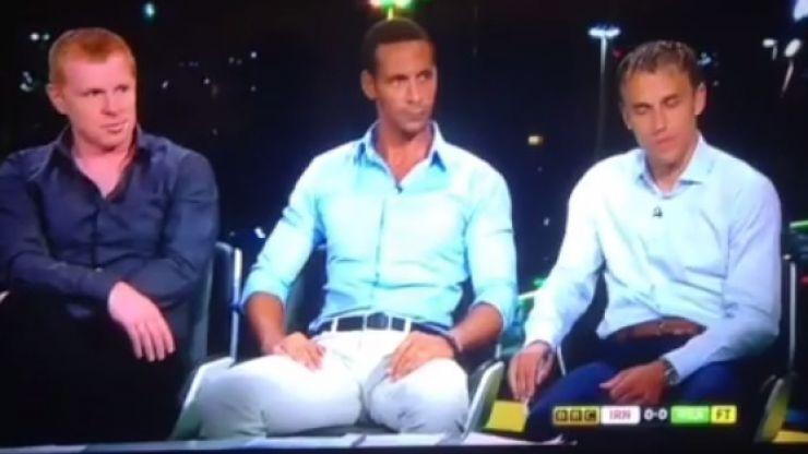 Vine: Rio Ferdinand provides easily the best punditry moment of the World Cup so far