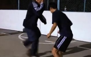 Video: Freestyle footballer disguised as old man bamboozles opponents with amazing skills