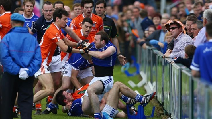 Irish bookie pays Armagh's fine for their pre-match brawl with Cavan