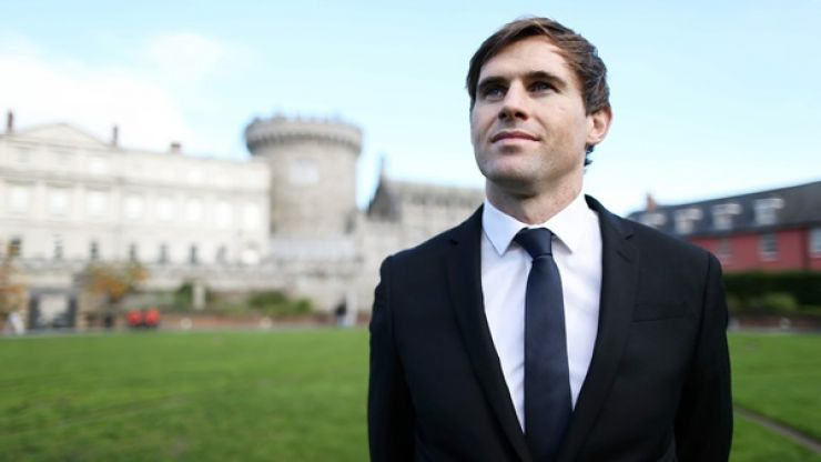 Pic: Kevin Kilbane might just have met the most attractive fan at the World Cup