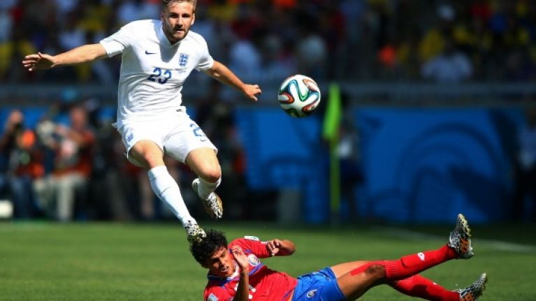 Pic: It's official... Luke Shaw is now a Manchester United player