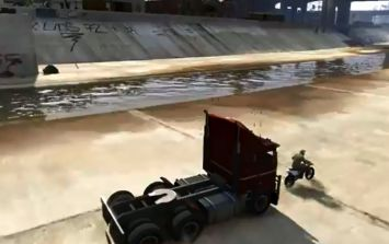 Video: The famous truck-chase scene from Terminator 2 has been recreated in GTA V and it's deadly