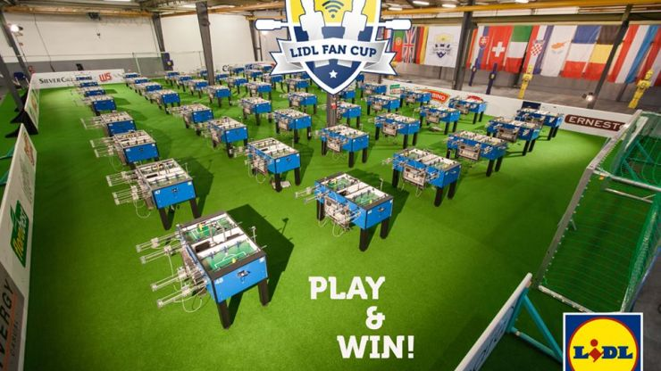 Video: Here's a look at the making of Lidl's automated foosball tournament, The Lidl Fan Cup