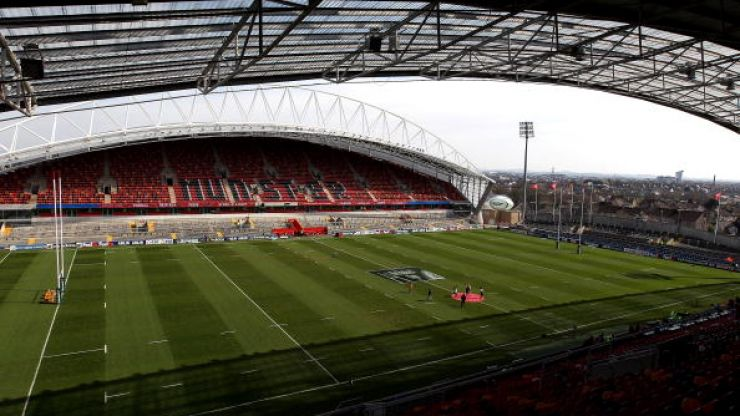 Pic: Here's the new Munster away jersey, a lovely shade of green