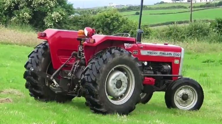 Video: Clare man has invented a full-size remote control Massey Ferguson tractor