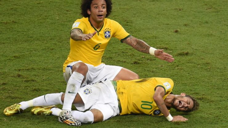 Brazil's main man Neymar ruled out of remainder of World Cup