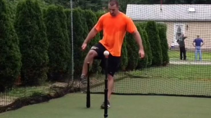 Video: This guy's skill with a baseball bat will blow you away