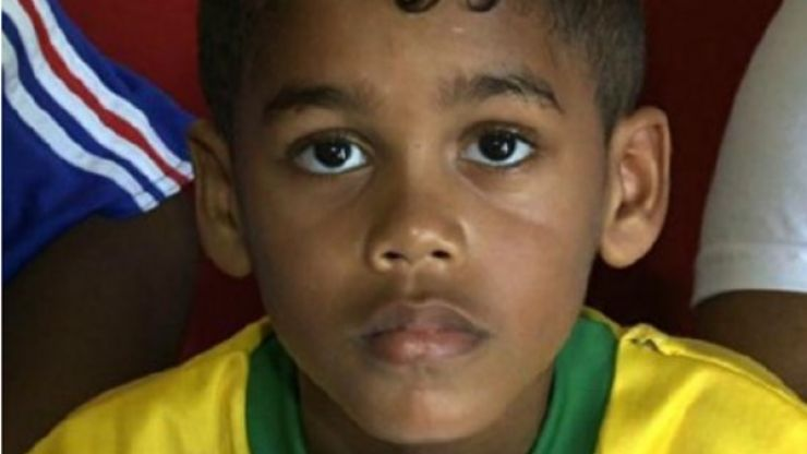 Greatest Name Ever: Brazilian boy is named after so many footballers that he can't remember his name