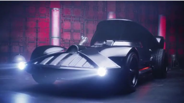 Video: This Darth Vader car is better than the Batmobile, Bond's