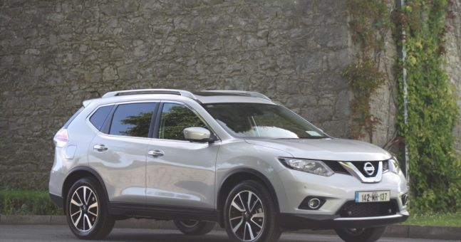 joe s car review all new nissan x trail joe is the voice of irish people at home and abroad. Black Bedroom Furniture Sets. Home Design Ideas