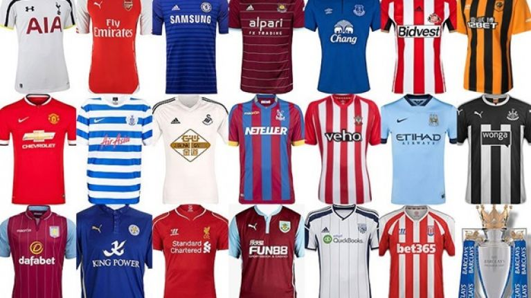 timeless design 0c8a8 b3d07 Gallery: All the Premier League home jerseys in one glorious ...