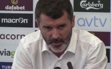Video: Roy Keane's first Aston Villa press conference was a very Roy Keane press conference