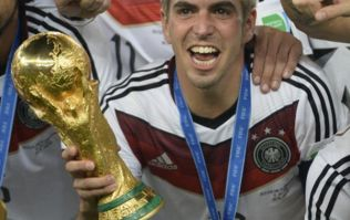 Gallery: 10 of Philipp Lahm's most famous images in a German shirt