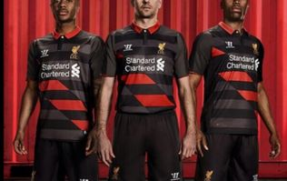 Pic: Liverpool launch their new third choice strip and it will definitely divide opinion