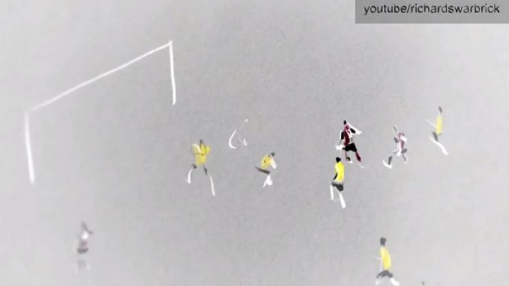 Video: A wondrous animation of Germany's dismantling of Brazil