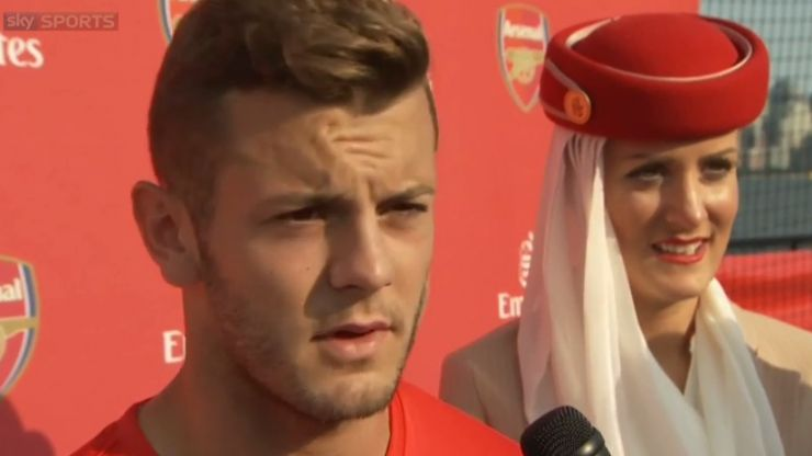 Video: Jack Wilshere apologises publicly for smoking on holiday in Las Vegas