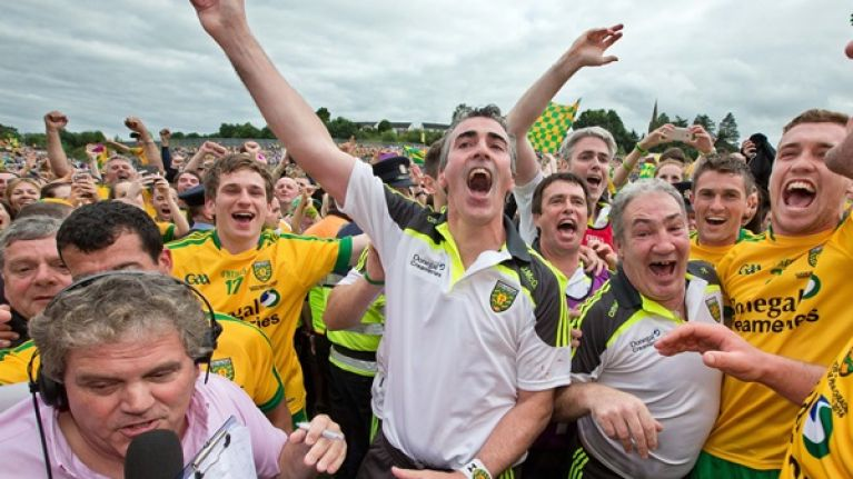 Jim McGuinness steps down as Donegal manager