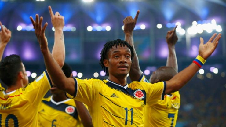 Transfer Talk: Barca and United chase Cuadrado, Vidal verbal agreement and Valbuena linked with QPR and West Ham