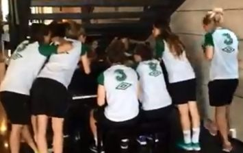 Video: The Irish women's under-19s team aren't just good at football; they're great singers as well