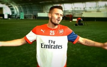 Video: The Arsenal players' attempts at a New York accent are pretty hilarious