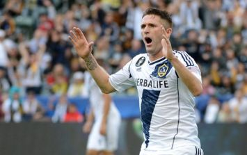 Video: Robbie Keane scored an absolute screamer from outside the box for the LA Galaxy last night